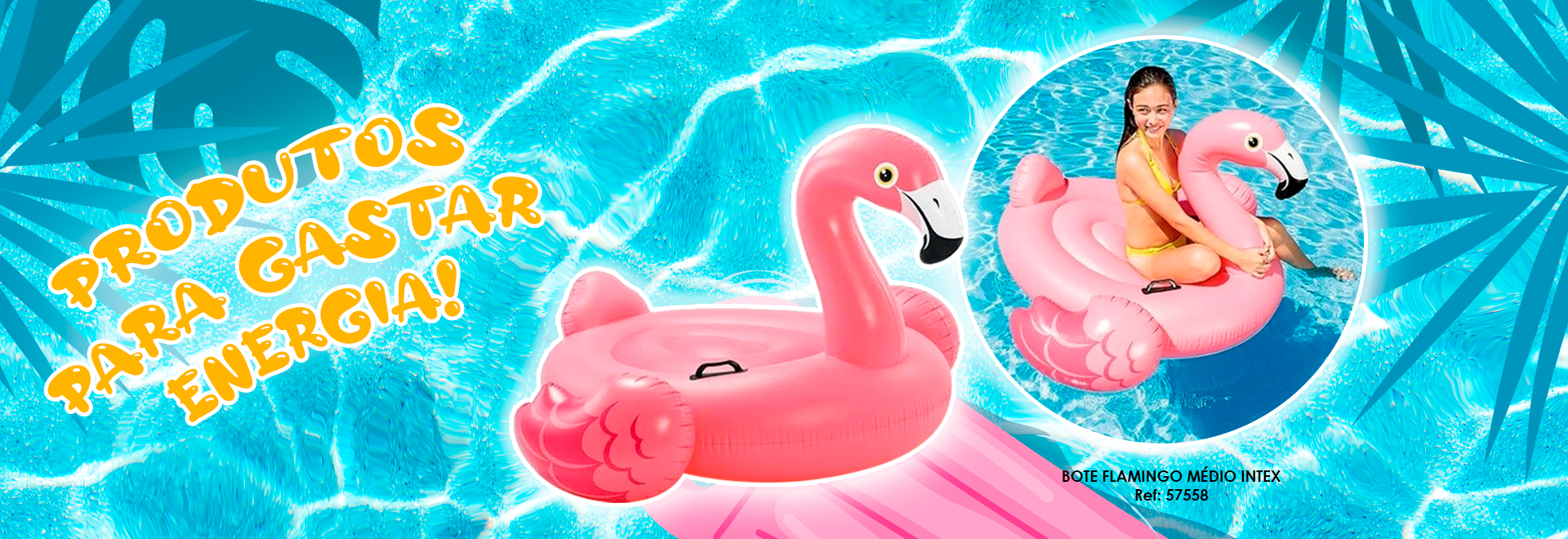 BOTE FLAMINGO 57558 INTEX